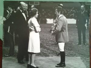 Alwin Schockemoehle bei der Queen